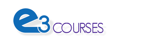 Logo of e3 Courses - Empowering and Equipping Educators